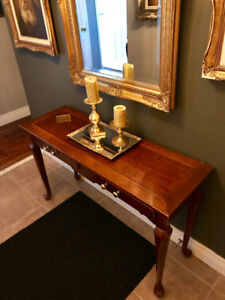 PRICE DROP was $175 now $125 foyer/hall table