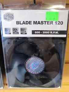 Cooler Master Blade Master 120 Black 120mm Case Fan 600-2000RPM
