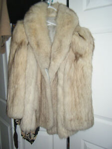 Beautiful Blue Fox Fur Coat Peterborough Peterborough Area image 1