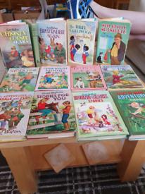 Vintage Enid Blyton Children's Hardback Books