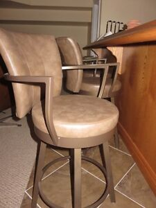 4 swivel bar stools