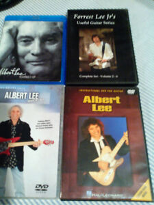 3 DVD GUITAR INSTRUCTION  BY ALBERT LEE  ONE OF THE BEST