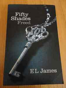 Fifty Shades Freed E L James Paperback Brand new London Ontario image 1