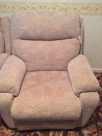 1 seater sofa oldham x 2
