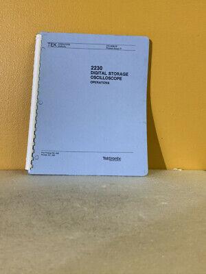 Tektronix 070-4998-02 2230 Digital Storage Oscilloscope Operators Manual