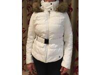 As new Ladies White Poivre Blanc Ski Jacket