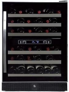 Cellier Avantgarde noir 24'', 48 bouteilles