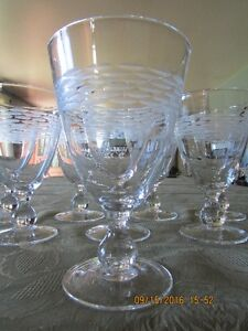 *STUNNING* Gobelet-Style – Set of 16  Wine Glasses *Barely Used* West Island Greater Montréal image 2