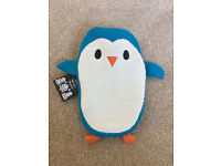 New - penguin hot water bottle (small size)