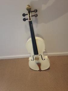 Nice Violin 4/4 for decorative(white)