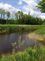 Water access 1 acre lot in sturgeon falls