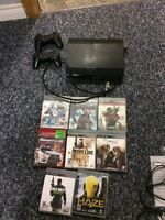 12GB PS3 with games
