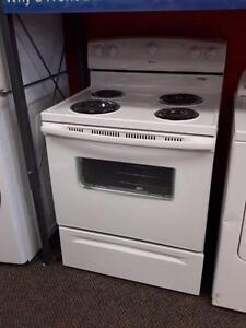 "*** NEW *** WHIRLPOOL 30"" WHITE COIL TOP RANGE   S/N:R60832685   #STORE587"