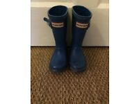 Child's size 7 Hunter Wellies