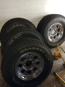 Wheels and tires LT 265 75 r 16