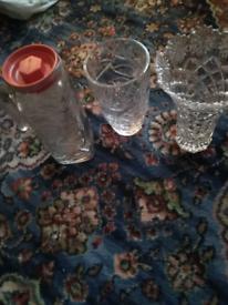 2 vases and 1 jug £3 each