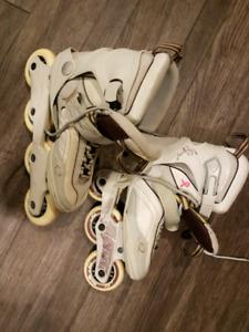 Size 8 k2 womens rollerblades