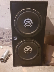Amp and Subwoofers