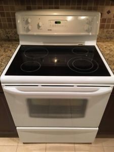Kenmore Range with glass cooktop for sale