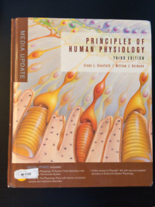 Principles of Human Physiology (3rd ed) Stanfield and Germann