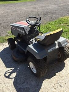 Older Craftsman lawn mower