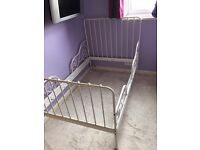IKEA Minnen bed and bed slats