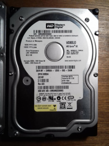 "Western Digital Caviar SE 80GB Internal 7200RPM 3.5"" (WD800JD)"