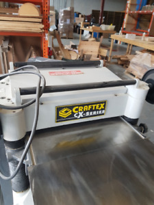 20 inch thickness planer with dust collector