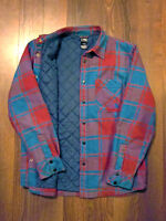 North Face flannel shirt w/ synthetic insulation (M's Med)