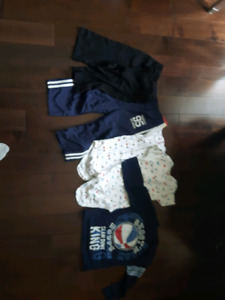 Garbage bag  full of 18-24 month old boys baby cloths