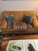 Loveseat and chairs