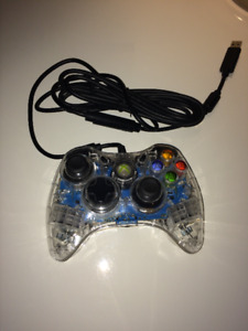 PDP Afterglow Controller for Xbox 360 - Blue