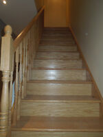 LAMINATE & HARDWOOD STAIRS INSTALLATION - FREE ESTIMATION