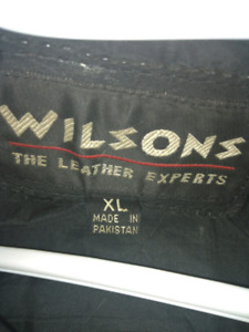 Wilson Motorcycle jacket and accessories