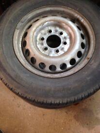 Mercedes sprinter steel wheels
