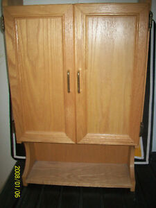 Solid Oak Cabinet