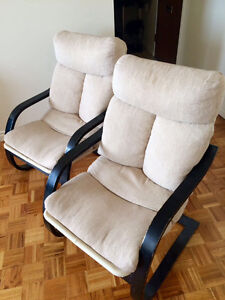 2 upholstered armchair