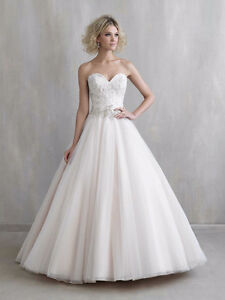 Madison James Ball Gown Wedding Dress - Champagne - Size 12-16