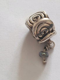 Pandora March birthstone charm