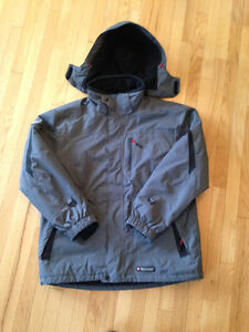 MISTY MOUNTAIN WINTER COAT-mint!  (men's size large, fits small)