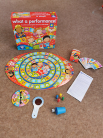 Orchard toys what a performance family board game toy