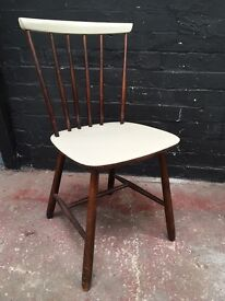 Beautiful vintage spindle back chair