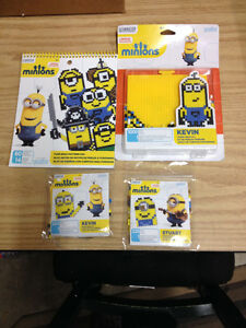 Perler Beads Minions Sets and Pattern Book all NIP