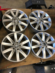 Factory VW rims