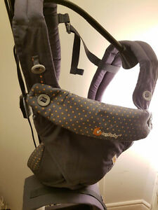 NEW Dusty Blue Ergobaby carrier 360 four position