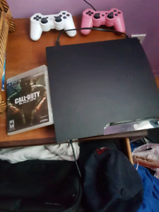 PS3 slim WITH 14 GAMES