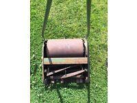 Old push lawn mower