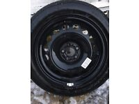 Spare wheel or emergency wheel