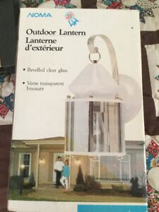 NOMA OUTDOOR LANTERN - Solid Brass - NEW in Box