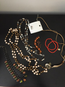 Jewellery - Necklaces and Braclets.